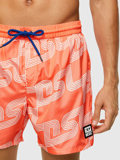 Diesel - BMBX-WAVE 2.017, Orange - Swim shorts - Image 3