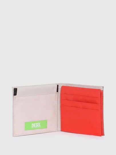 Diesel - HIRESH S SP, White/Orange - Small Wallets - Image 3