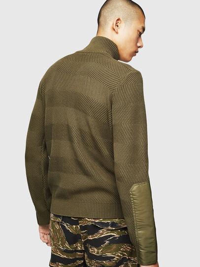 Diesel - K-MANY, Green - Knitwear - Image 2