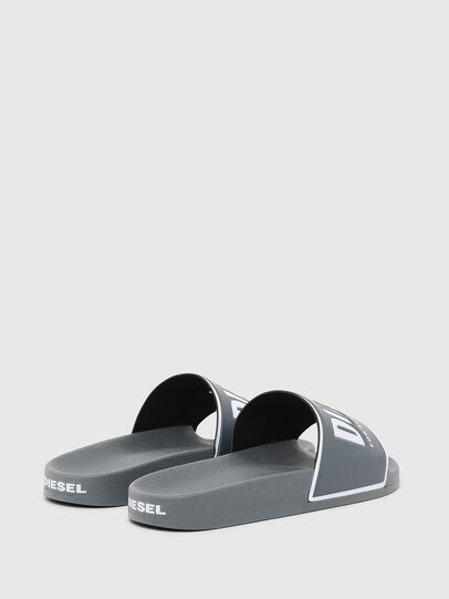 Diesel - SA-VALLA, Grey - Slippers - Image 3