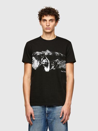 Diesel - T-DIEGOS-A7, Black - T-Shirts - Image 1