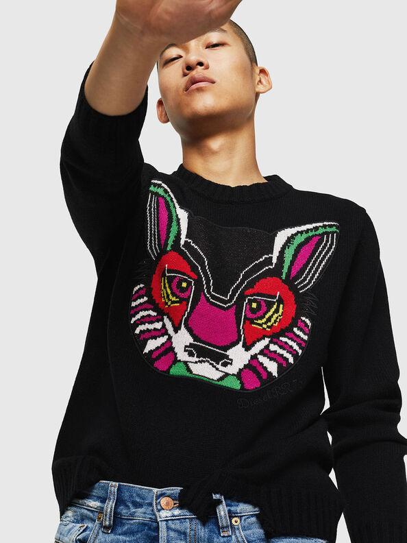 K-CV-PATCH,  - Knitwear