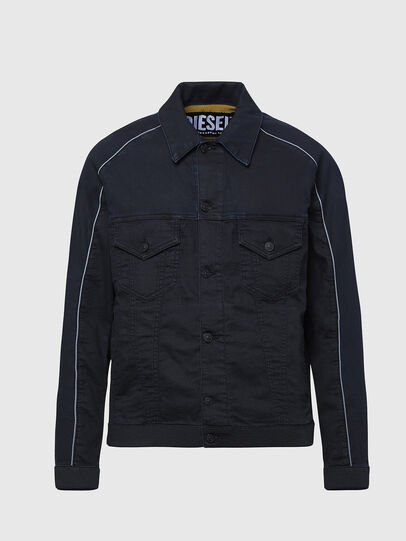 Diesel - D-BRAVY-SP JOGGJEANS, Black - Denim Jackets - Image 1