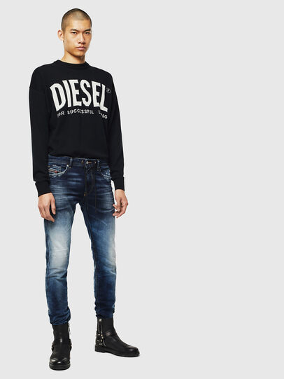 Diesel - Thommer JoggJeans 069KD, Dark Blue - Jeans - Image 5