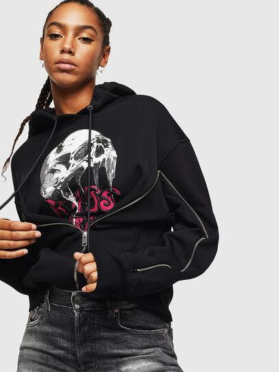 Diesel - F-LUDO, Black - Sweaters - Image 4