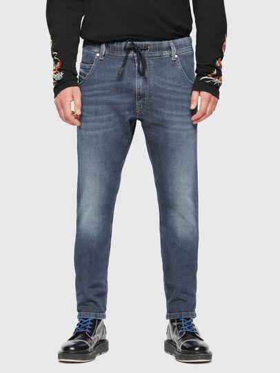 Diesel - Krooley JoggJeans 084UB, Medium blue - Jeans - Image 3