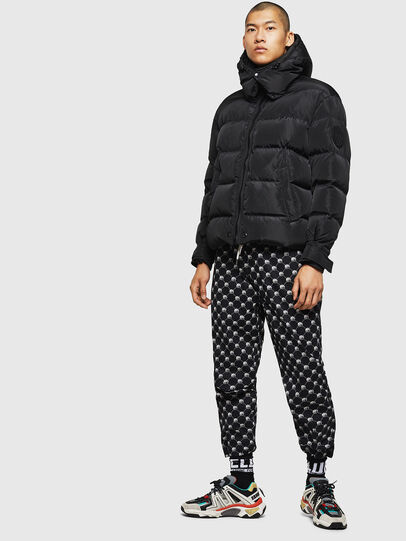 Diesel - W-SMITH-YA, Black - Winter Jackets - Image 6