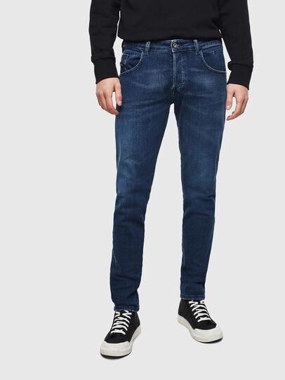 Diesel - D-Bazer 0095T, Dark Blue - Jeans - Image 1