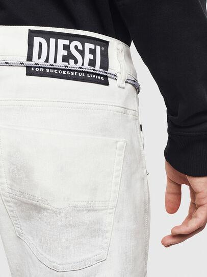 Diesel - D-Luhic JoggJeans 069LZ, White - Jeans - Image 5