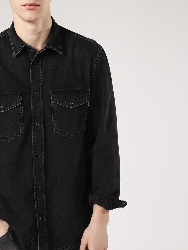 Diesel - D-ROOKE, Black Jeans - Denim Shirts - Image 3
