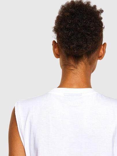 Diesel - T-PUNKYER-R1, White - T-Shirts - Image 4