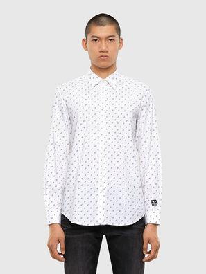 S-RILEY-ANC-KA, White - Shirts