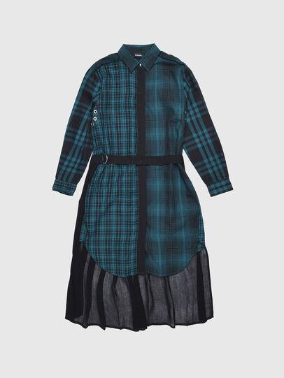 Diesel - DBAGGY, Green/Black - Dresses - Image 1