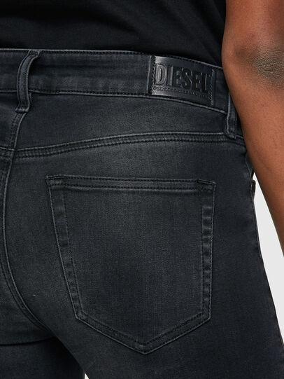 Diesel - Slandy 069SB, Black/Dark grey - Jeans - Image 4
