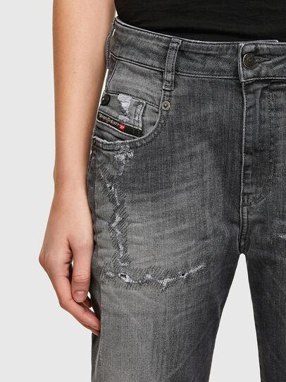 Diesel - Fayza JoggJeans® 009QT, Black/Dark grey - Jeans - Image 3