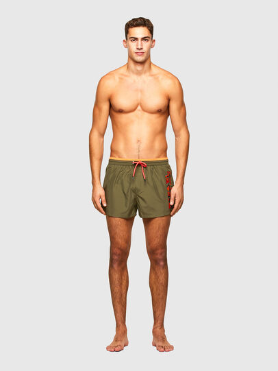 Diesel - BMBX-SANDY 2.017, Military Green - Swim shorts - Image 1