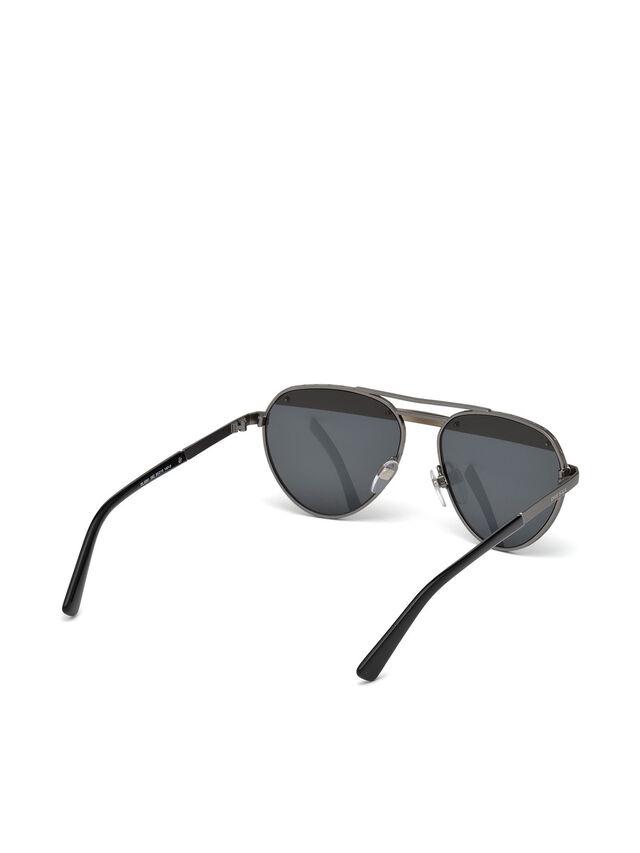 Diesel - DL0261, Black/Grey - Eyewear - Image 8