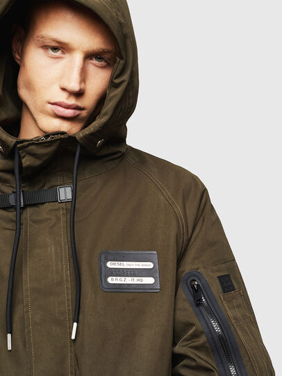 Diesel - W-KOBEC, Military Green - Winter Jackets - Image 3