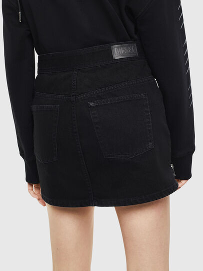 Diesel - DE-SILKA, Black - Skirts - Image 2
