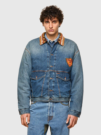 Diesel - DxD-J3, Light Blue - Denim Jackets - Image 2