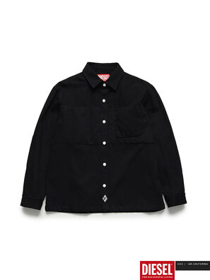 GR02-B301, Black - Denim Shirts