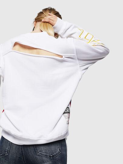 Diesel - F-LYANYDY, White - Sweaters - Image 2