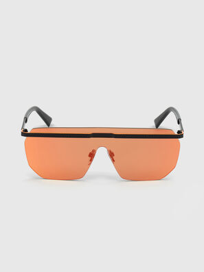 DL0259, Orange/Black - Sunglasses