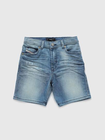 Diesel - PWILLOH JOGGJEANS, Light Blue - Shorts - Image 1