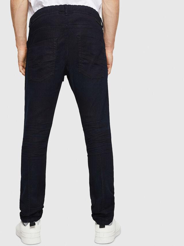Diesel - Krooley JoggJeans 0829P, Dark Blue - Jeans - Image 2