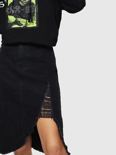 Diesel - DE-SISIL, Black - Skirts - Image 3