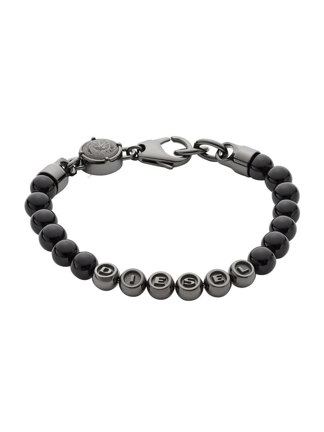 Diesel BRACELET DX0950, Black - Bracelets - Image 1