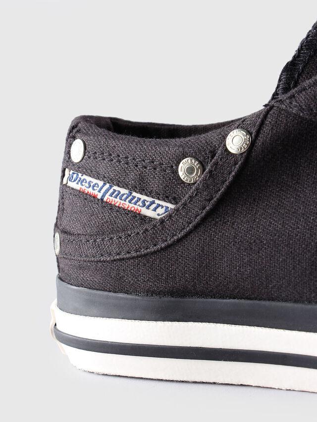 Diesel - EXPOSURE LOW W, Black - Sneakers - Image 5