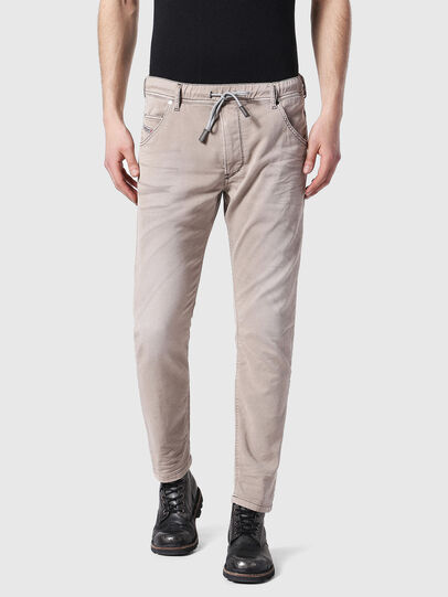 Diesel - Krooley JoggJeans 0670M, Light Brown - Jeans - Image 1