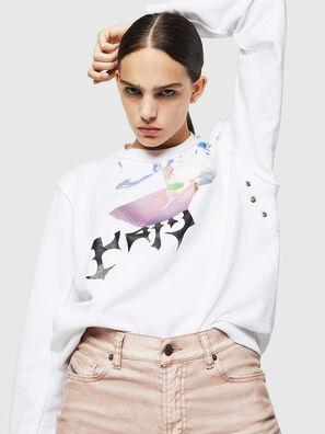 F-LYANY-G, White - Sweaters