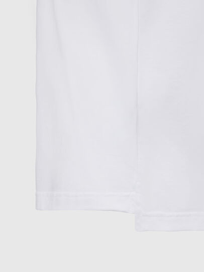 Diesel - T-JUST-SLITS-X83, White - T-Shirts - Image 4