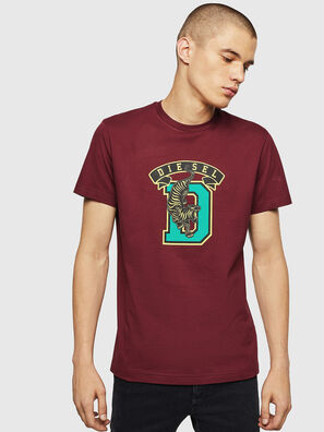 T-DIEGO-B4, Bordeaux - T-Shirts