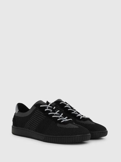 Diesel - S-MILLENIUM LOW, Black/Grey - Sneakers - Image 2