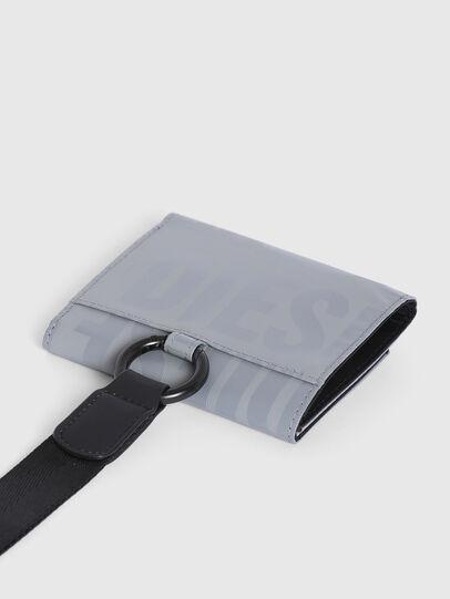 Diesel - YOSHINO LOOP II, Grey - Small Wallets - Image 5