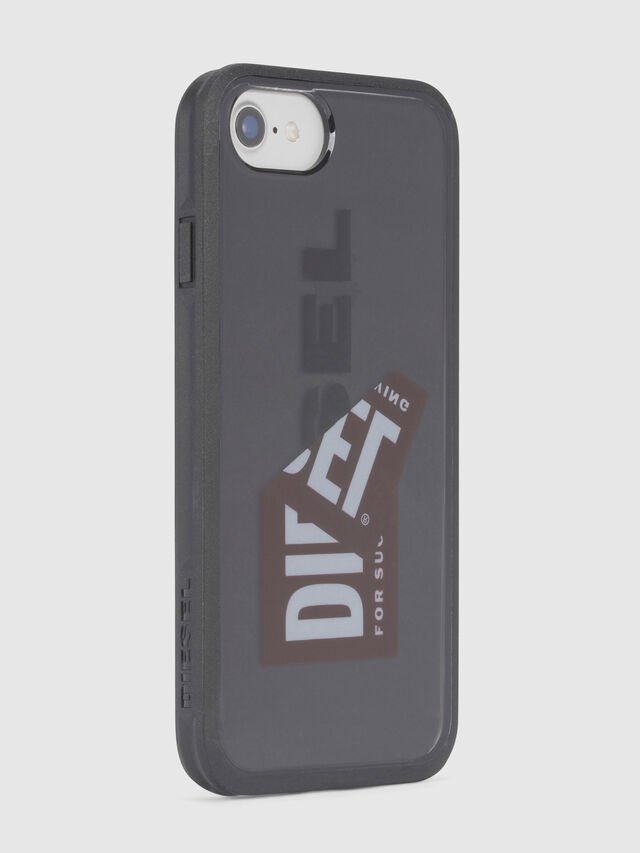 Diesel STICKER IPHONE 8/7/6S/6 CASE, Black - Cases - Image 3