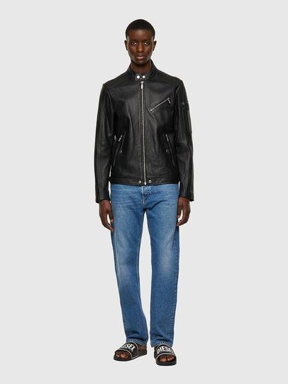 Diesel - L-CASE-KA, Black - Leather jackets - Image 5
