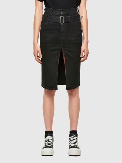 Diesel - DE-FEDY-SP, Black - Skirts - Image 1