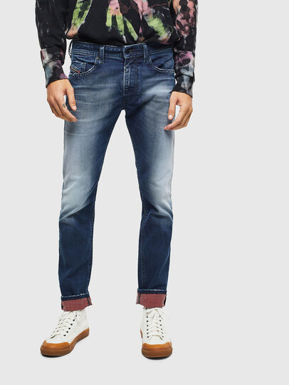 Diesel - Thommer 009BQ, Dark Blue - Jeans - Image 6