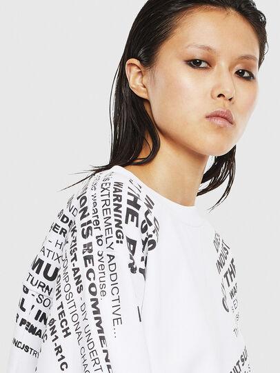 Diesel - F-AYALA, White - Sweaters - Image 3