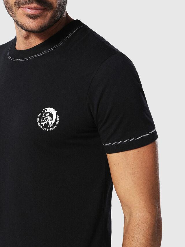 Diesel UMLT-JAKE, Black - T-Shirts - Image 3