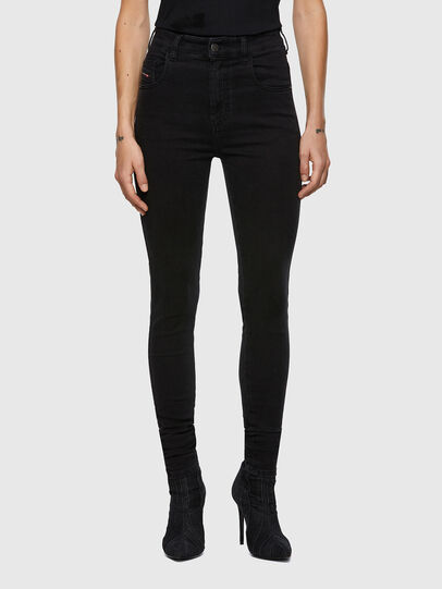 Diesel - Slandy High 069VW, Black/Dark grey - Jeans - Image 1