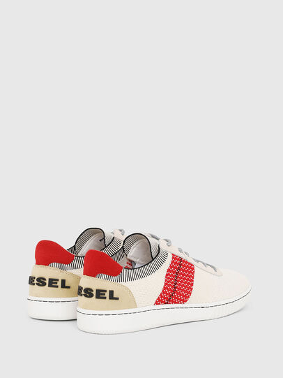 Diesel - S-MILLENIUM LOW, Cream - Sneakers - Image 3