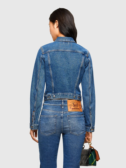 Diesel - DE-LIMMY, Medium blue - Denim Jackets - Image 2