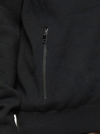 Diesel - K-ALAMAN, Black - Knitwear - Image 4