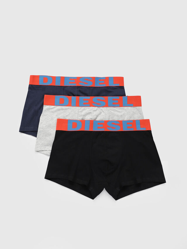 Diesel - UMBX-SHAWNTHREEPACK, Blue/Orange - Trunks - Image 1