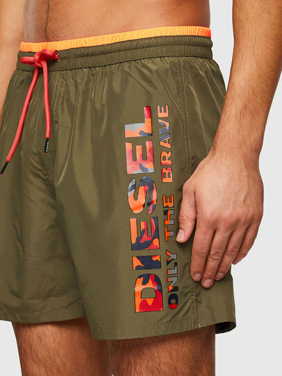 Diesel - BMBX-WAVE 2.017, Military Green - Swim shorts - Image 3